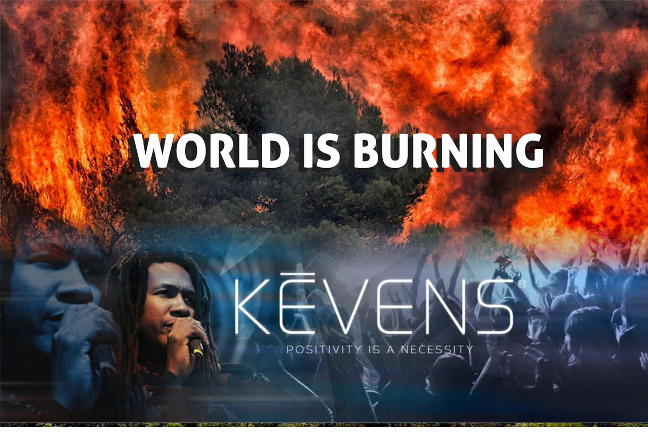 "CYCDI and UNIC partner American singer and songwriter, Kēvens to campaign against Climate Crisis with his newly released song ""World Is Burning"" to commemorate UN75"